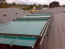 Sun Sensor Retractable Roofs
